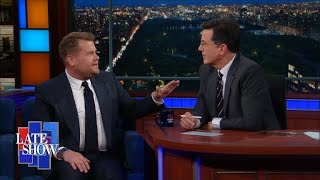 James Corden Had Dinner With Lin-Manuel Miranda, And Other Name-Drops