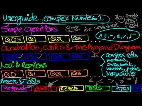 Video of Complex Numbers Practice