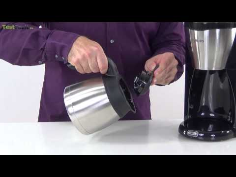 Test: Philips HD 7546/20 Thermo Kaffeemaschine