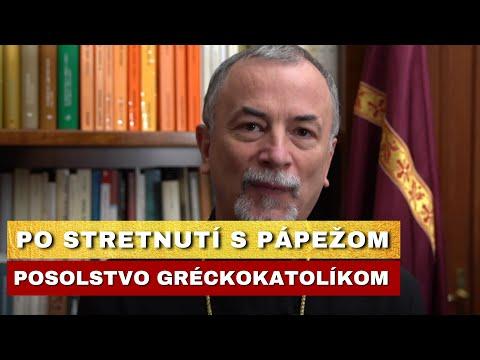 Pápež potvrdil dôležitosť gréckokatolíckej cirkvi – Vladyka Cyril Vasiľ