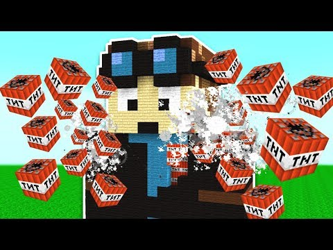 BLOWING UP FAMOUS MINECRAFT YOUTUBERS! download YouTube