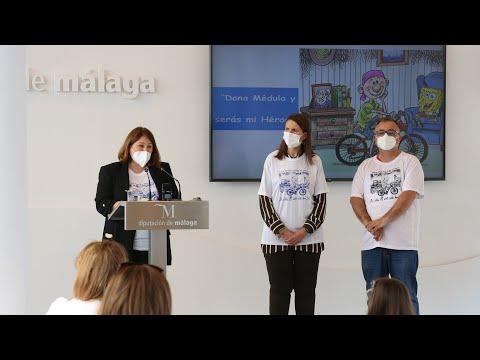 Presentación del programa Dona Médula, serás mi héroe