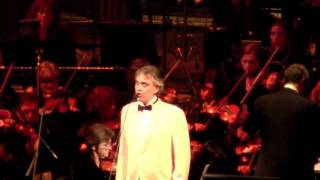 "Andrea Bocelli - MSG My Christmas 12/2/10 ""Angels We Have Heard On High"" HD"
