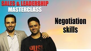 Negotiation Skills (the most practical demonstration)