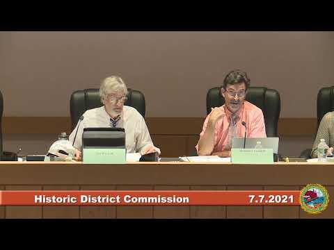 7.7.2021 Historic District Commission