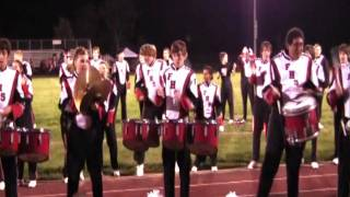 Firelands Falcons Drumline: Parade of Bands 2010