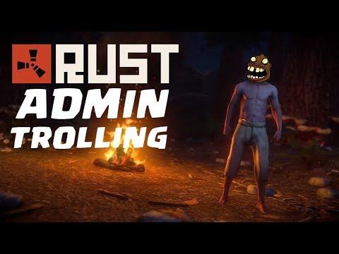 Admin tentando Trollar no Rust #compartilhe