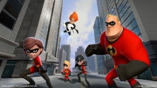 Disney Infinity: 1st Hour - The Incredibles - Video Youtube