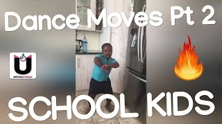South African School Kids Amapiano Dance Moves 2019 Part 2