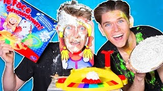 PIE FACE BATTLE CHALLENGE!!! (Family Friendly Edition)