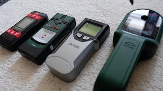 The Silent Review: wall scanner, Chinese or German? Bosch UniversalDetect, Truvo, Meterk, JAXWQ?