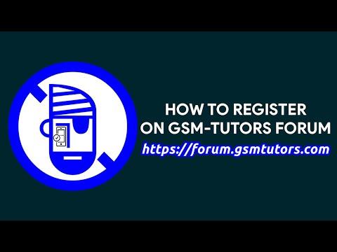 How To Register On GSM-Tutors Forum - [romshillzz]