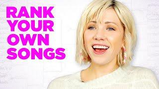 Carly Rae Jepsen Ranks Her Own Songs