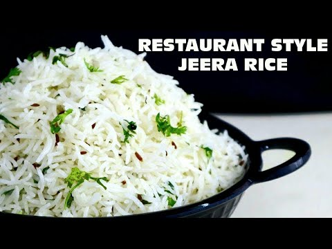Jeera Rice Recipe Restaurant Style in hindi l जीरा राइस l  Cooking with Benazir