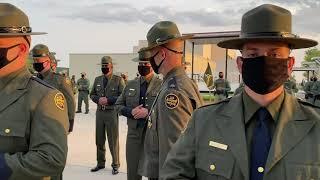 Border Patrol Academy Class 1140's Inspection