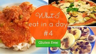What I Eat #4 SPECIALE PIZZA Gluten Free //Menu Vegetariano E Sandwich CRUDISTA