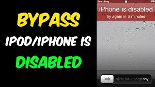 Forgot iPod PASSWORD: How to FIX IT without a restore