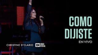 Christine D'clario  Como Dijiste