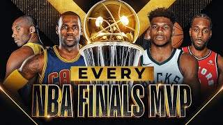 EVERY NBA FINALS MVP (1969-2021)   Jordan, Kareem, Kobe, LeBron & MORE 🏆
