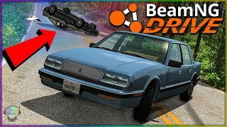 Sent A Suspect OFF A CLIFF! Police Chases [Part 2]   BeamNG Drive