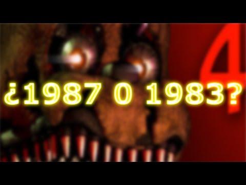 ¿Cual Sera El Año Donde Se Ubicara El Five Nights At Freddy's 4? | FNAF 4
