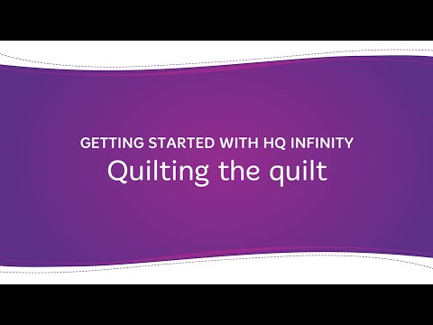 HQ Infinity - Quilting the Quilt