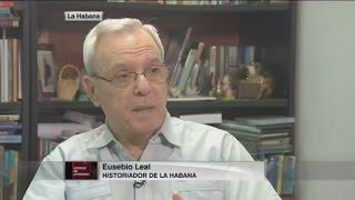 Eusebio Leal con la verdad de Cuba ante la CNN