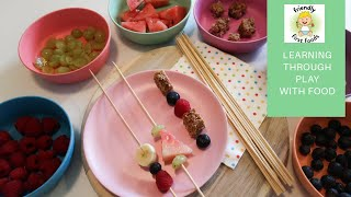 Early Years Maths Home Learning | Play With Your Food