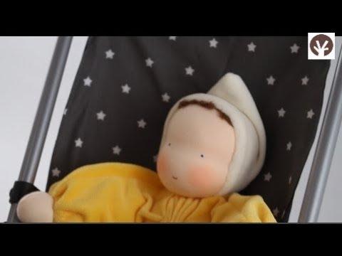 Carrito de muñecas plegable