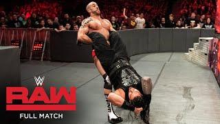 FULL MATCH: Roman Reigns vs. Cesaro – Intercontinental Title Match: Raw, December 11, 2017