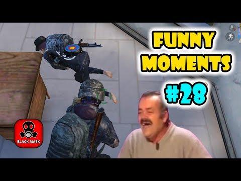 PUBG Mobile Funny Moments EP 24 - Black Mask