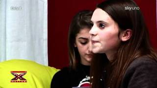 X Factor 5 - Daily 8 - Simona Ventura Cerca Di Spronare Francesca