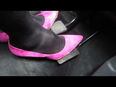 Bright Pink Office pumps
