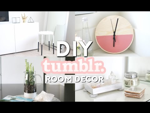DIY Tumblr Room Decor | Minimal & Simple