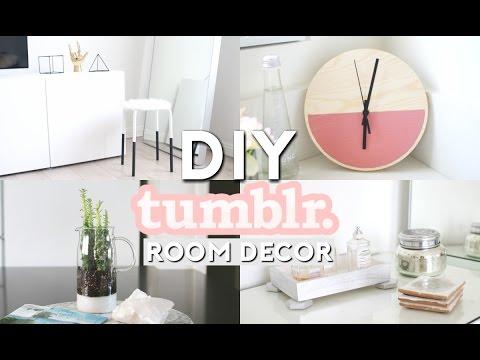 DIY Tumblr Room Decor | Minimal & Simple
