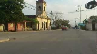 preview picture of video 'calle martí en Los Arabos, camino al parque'