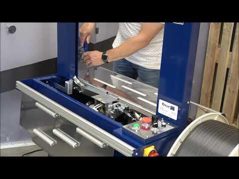Ampag Boxer II: Machine schoonmaken