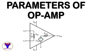 Parameters of Operational Amplifier (English)| Linear Integrated Circuits| Basics of Op-amp