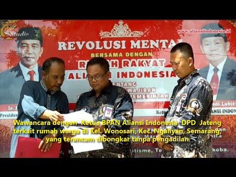 Rumah Warga di Kel. Wonosari, Kec. Ngaliyan, Semarang, Terancam Dibongkar Tanpa Pengadilan