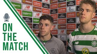 🎙️ Ryan Christie And Kristoffer Ajer On The Match | Celtic 0-0 Livingston