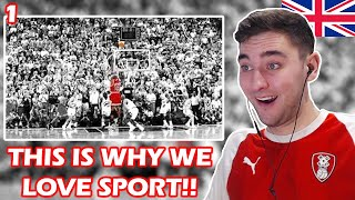 British Soccer Fan Reacts to the Greatest Sports Moments Part 1