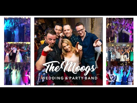 Voted Best Wedding Bands Ireland – The Moogs for the PARTY OF A LIFETIME :-) Book Now for 2018 2019