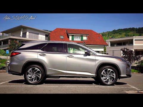 Lexus RX L Паркетник класса J - тест-драйв 1