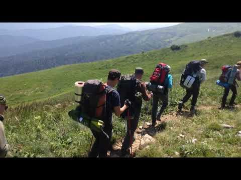 Кусочек Кавказских гор. Поход тридцатка