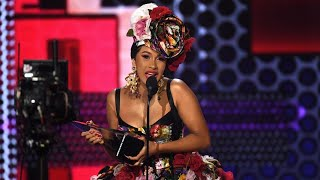 AMAs 2018: Cardi B Makes Epic Return to the Awards Show Stage After Birth of Daughter