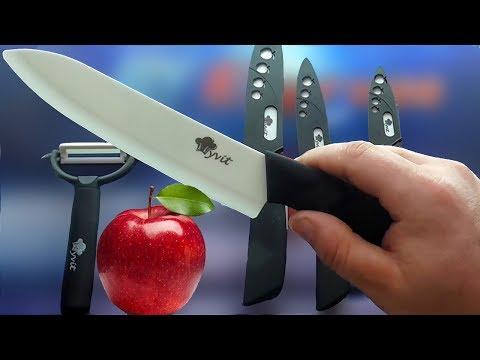 Керамические Ножи из Китая с AliExpress.Обзор - Тест, Посылка из Китая, Китайские керамические ножи