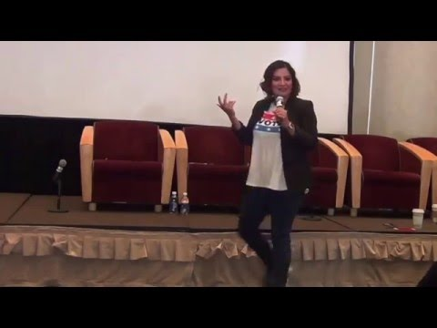 Cristela Alonzo Talks About 'Hispandering' at DePaul