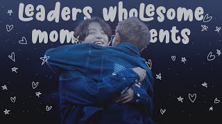 kpop leaders wholesome moments