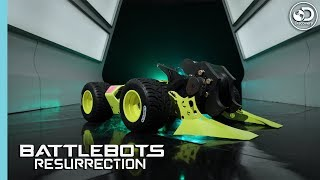 Hypershock Gets Grounded  | BattleBots: Resurrection