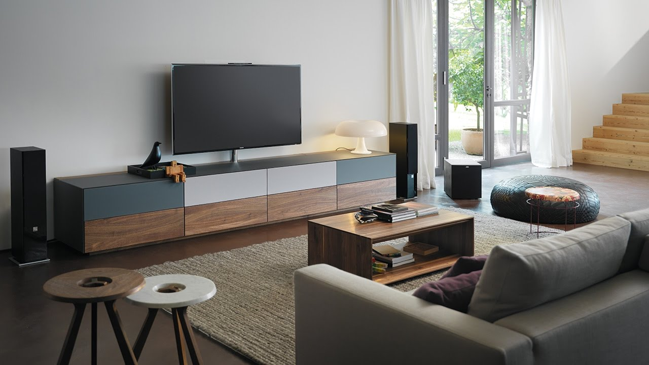 cubus pure home entertainment von team 7 genuss f r augen und ohren. Black Bedroom Furniture Sets. Home Design Ideas